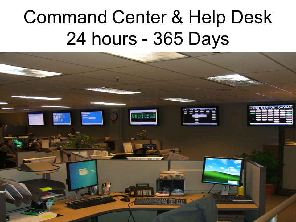 4 ADOA Data Center Menu of Services contd: –Help Desk Support and Ticket management –Monitoring and Notifications 7/24 –Network Communications Support –Project Management –Backup Tape Support –Information Security Support –Disaster Recover to Remote Location