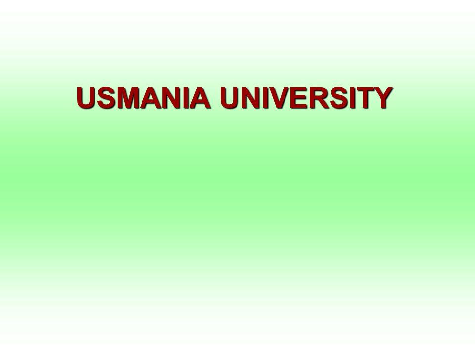 USMANIA UNIVERSITY