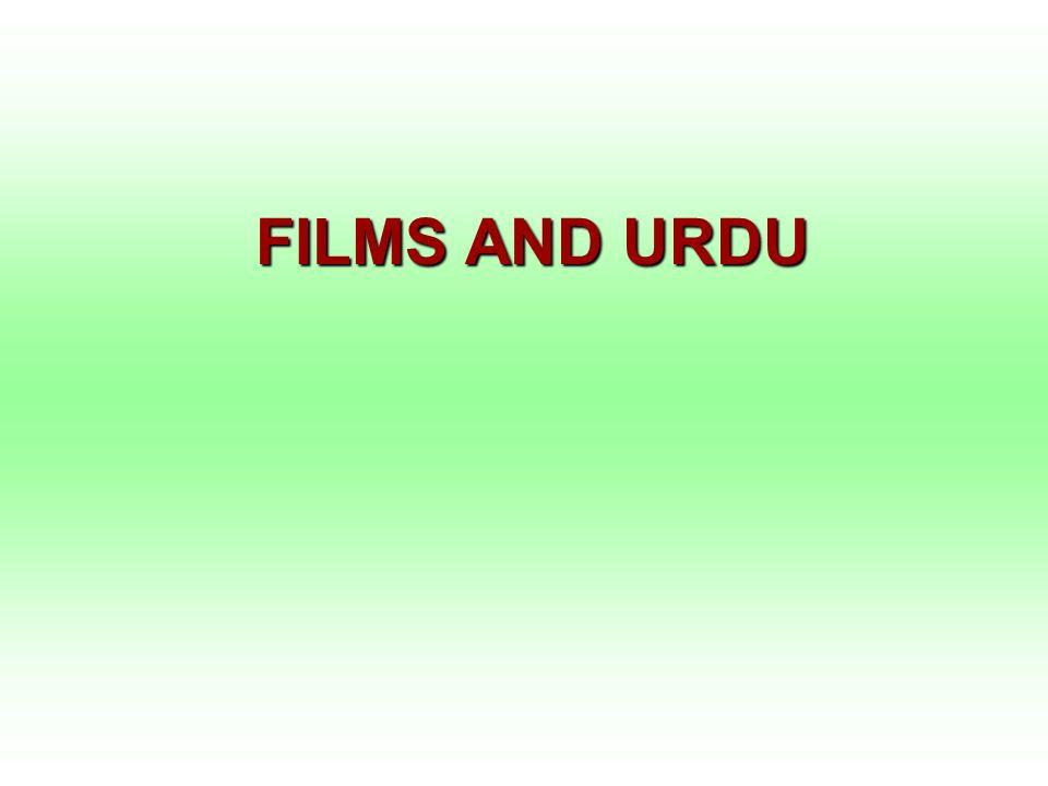 FILMS AND URDU