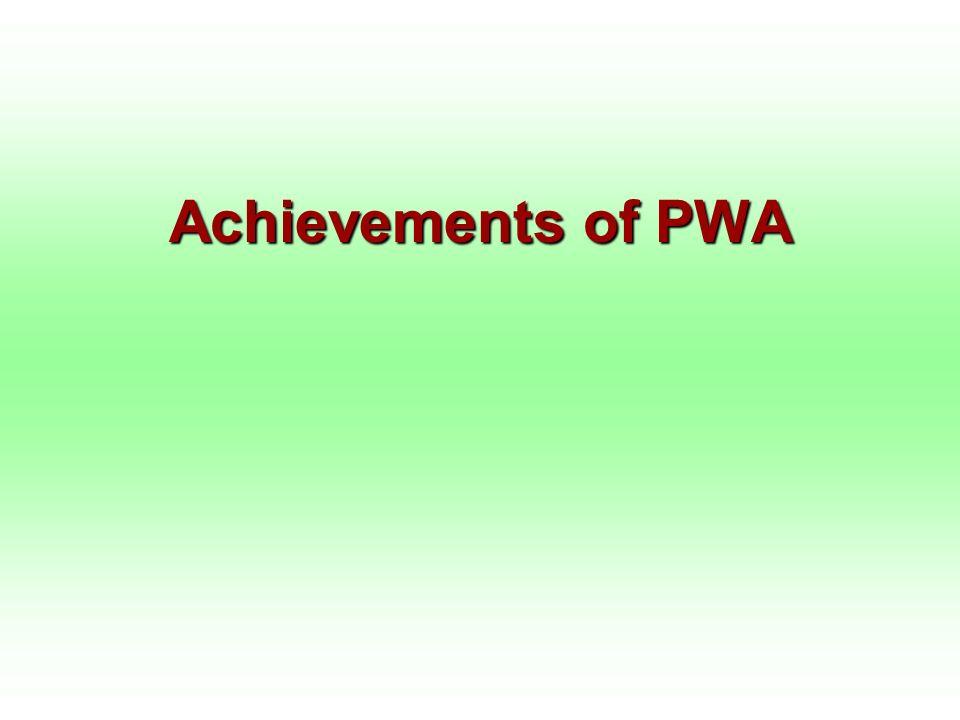 Achievements of PWA