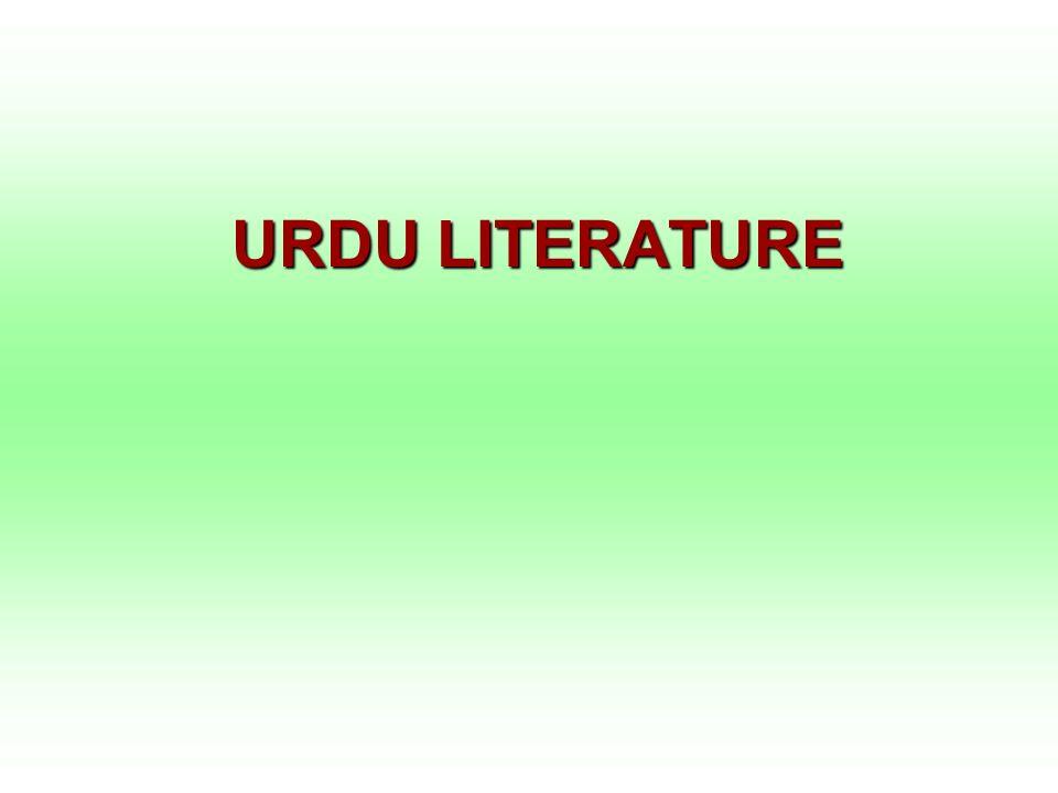 URDU LITERATURE