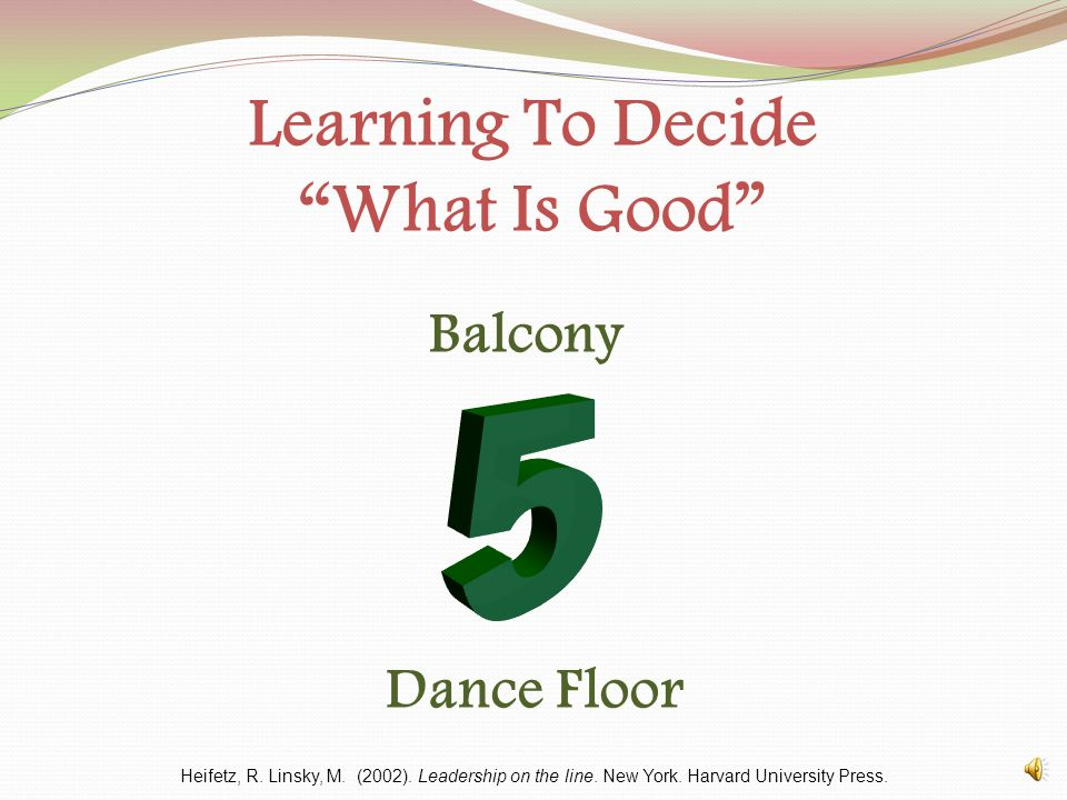 Learning To Decide What Is Good Heifetz, R.Linsky, M.