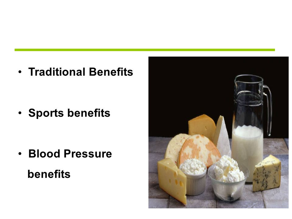 Traditional Benefits Sports benefits Blood Pressure benefits