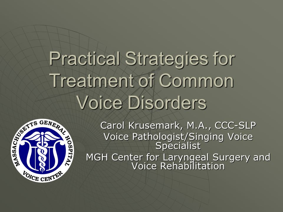 MTD: Compression Goals: Goals: Reduce supraglottic compressionReduce supraglottic compression Reduce vocal fold medial compressionReduce vocal fold medial compression Task requirements: Task requirements: Complete closure of the vocal folds along their length (coordination of closers)Complete closure of the vocal folds along their length (coordination of closers) Adduction to a just barely touching positionAdduction to a just barely touching position