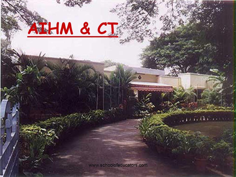 AIHM & CT www.schoolofeducators.com