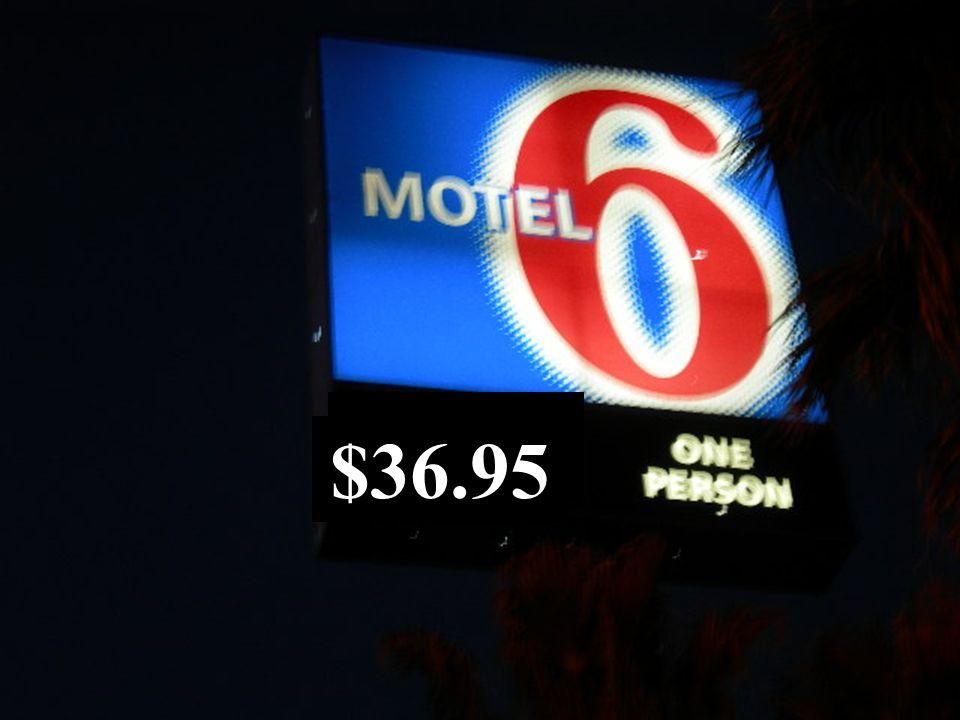 6 $36.95