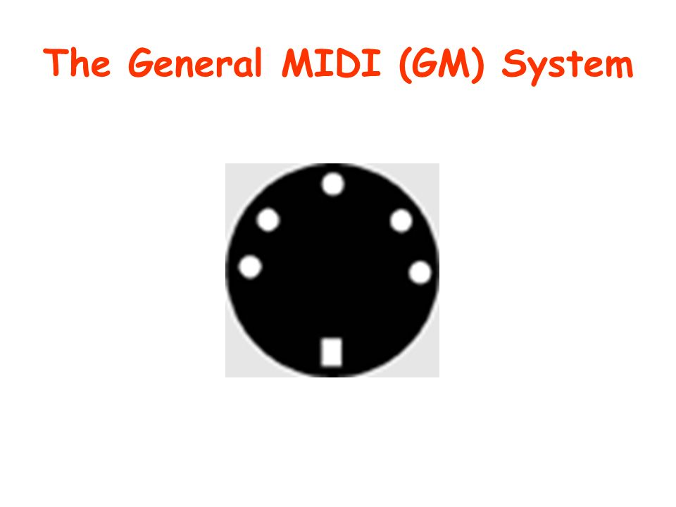 The General MIDI (GM) System