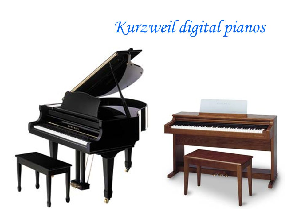 Kurzweil digital pianos