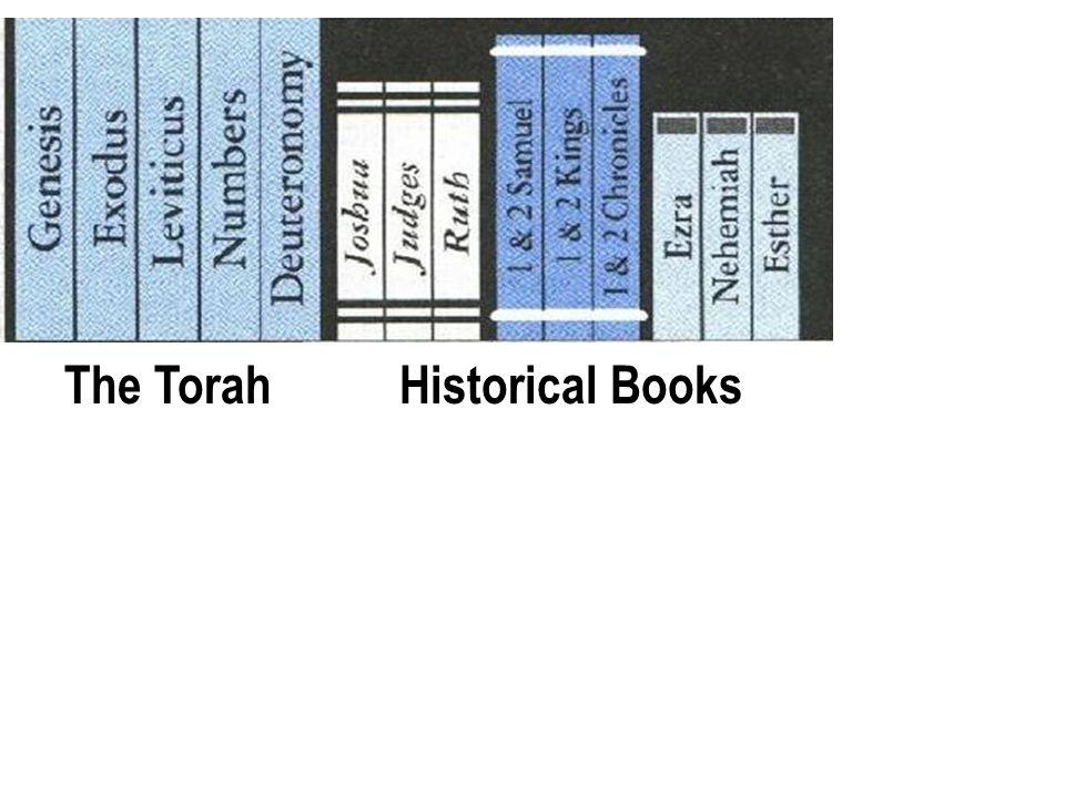 Old Testament Books The TorahHistorical Books