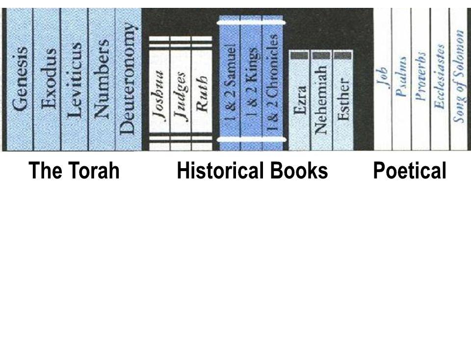 Old Testament Books The TorahHistorical BooksPoetical