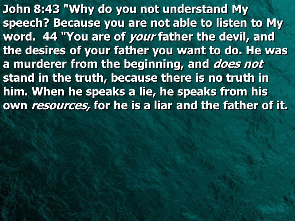John 8:43