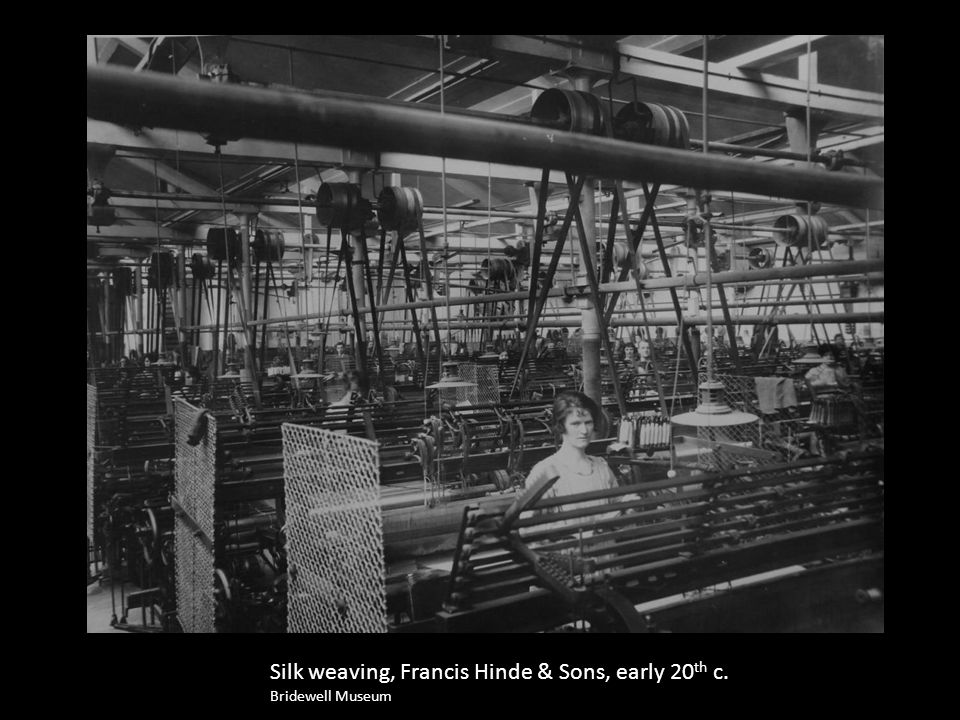 Dyeing, Francis Hinde & Sons, early 20 th c. Bridewell Museum