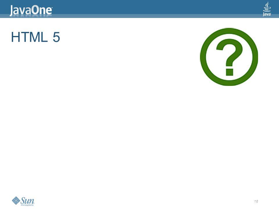 18 HTML 5
