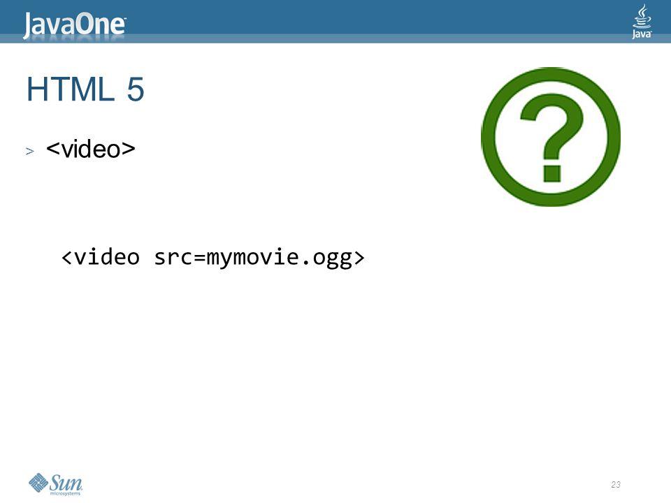 23 HTML 5 >