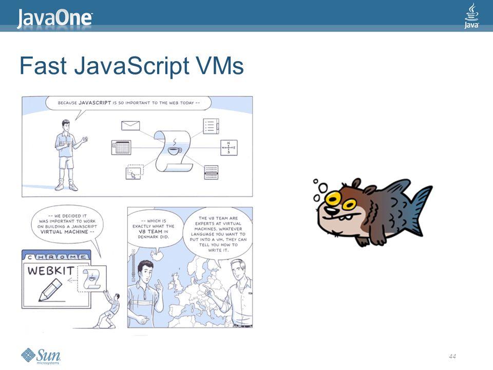 44 Fast JavaScript VMs