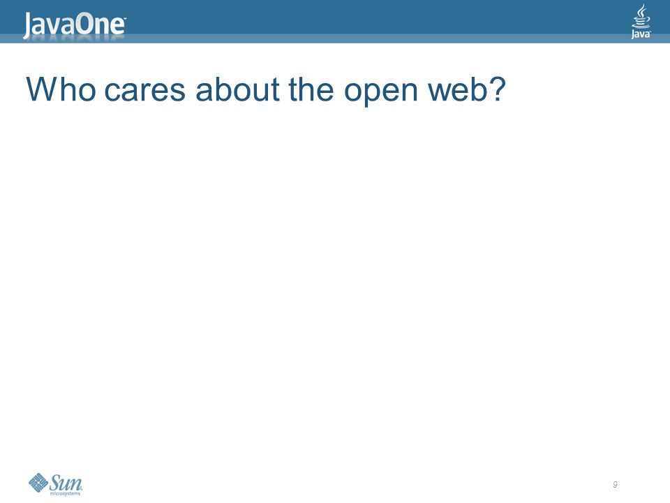 10 Who cares about the open web? > Google