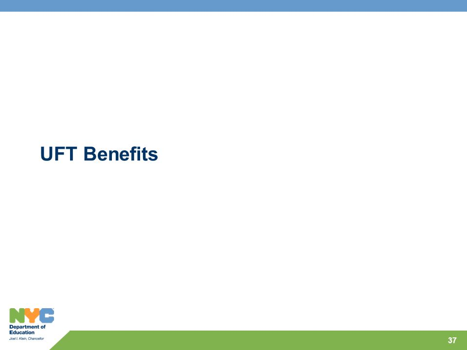 UFT Benefits 37