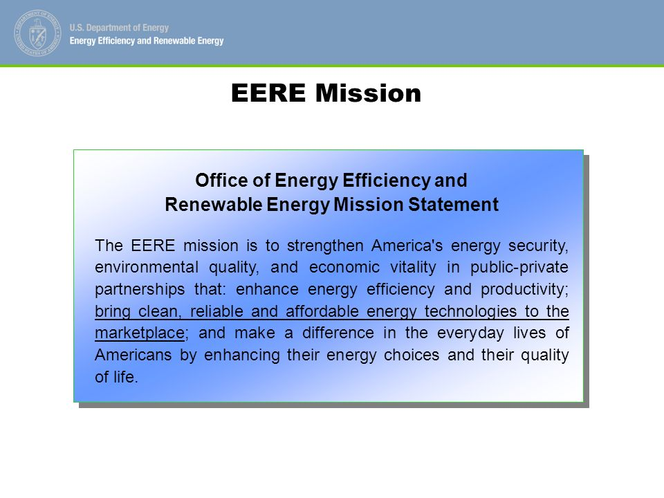 Building Technologies Program Mission Building Technologies Program Mission Statement To create technologies and design approaches that enable net- zero energy buildings at low incremental cost by 2025.