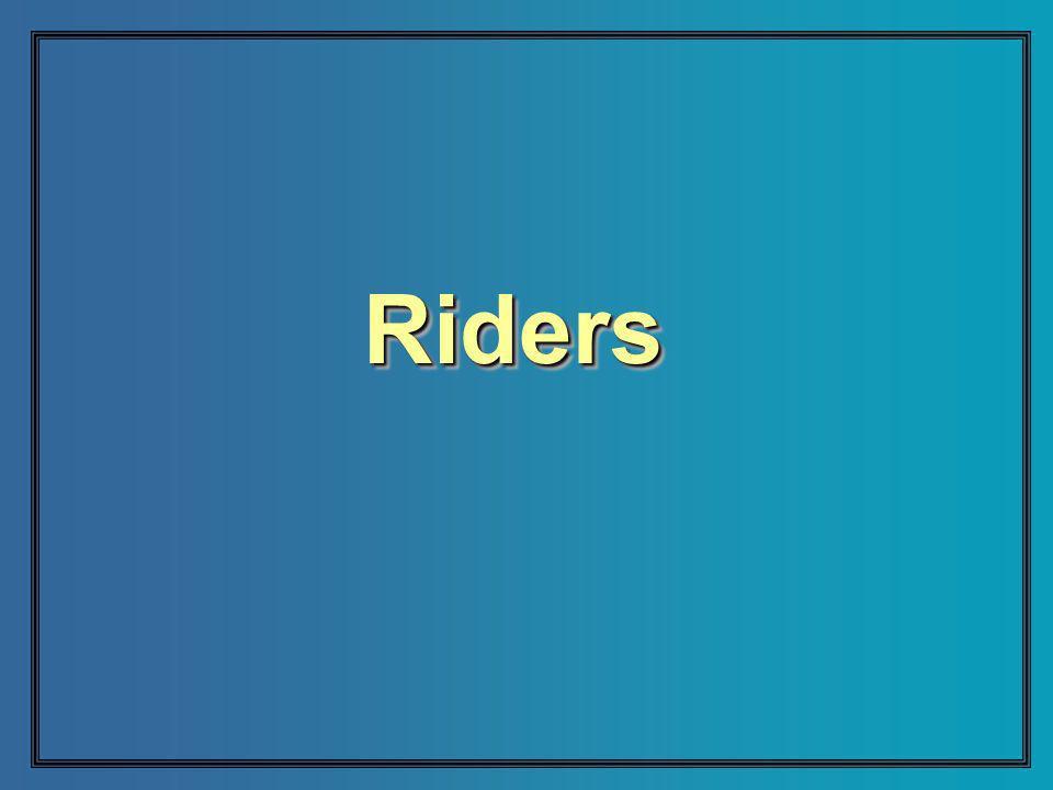 RidersRiders