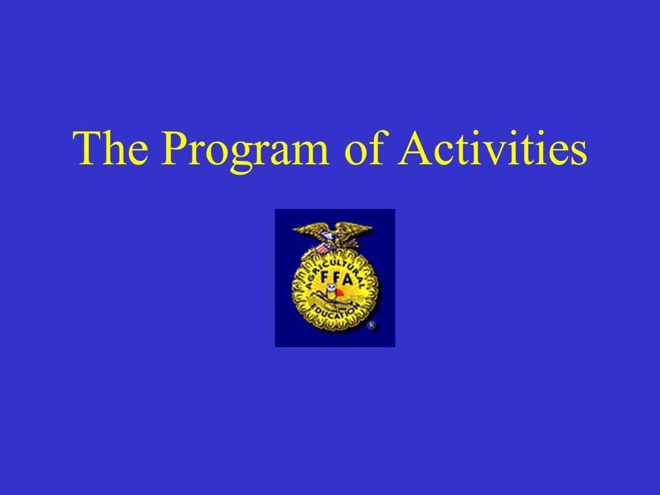 The Program of Activities