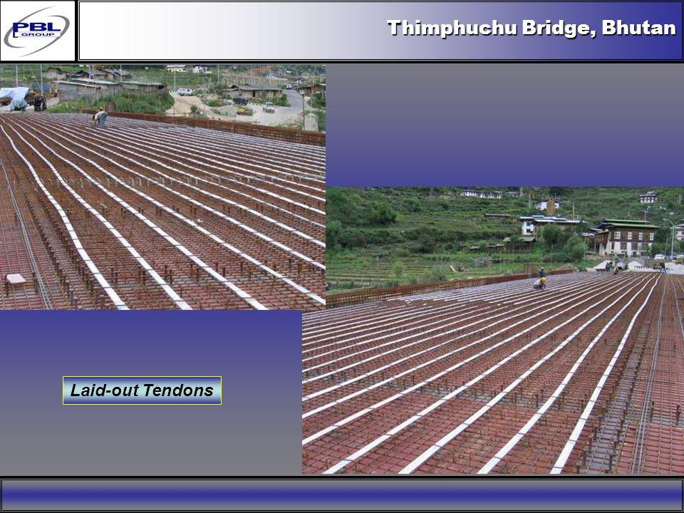 Bang Pakong Bridge, Thailand Sections A-A and B-B I-Girder of Lengths 25 m and 35 m