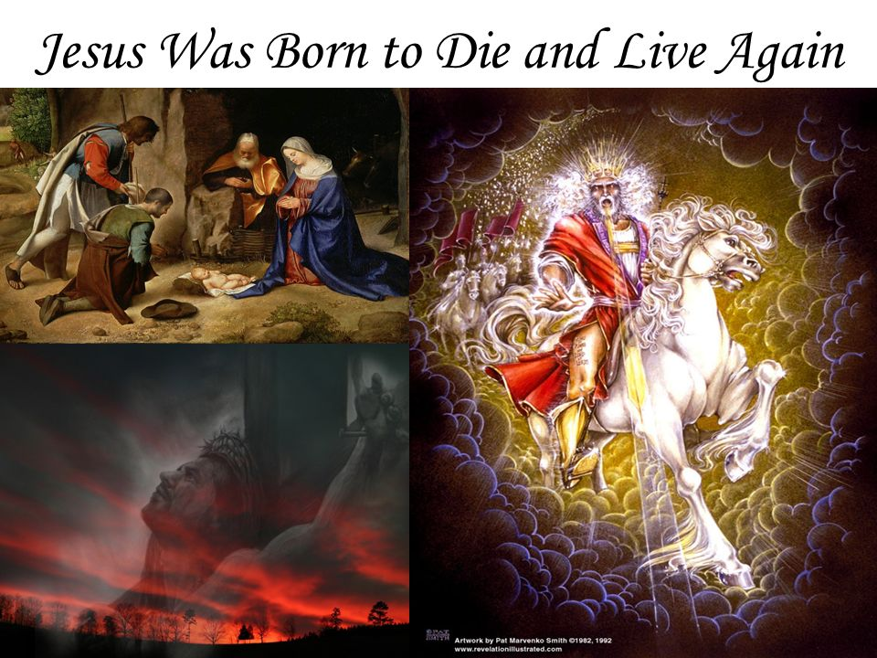 Jesus Was Born to Die and Live Again 37
