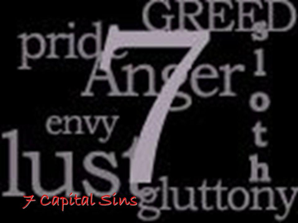 7 Capital Sins