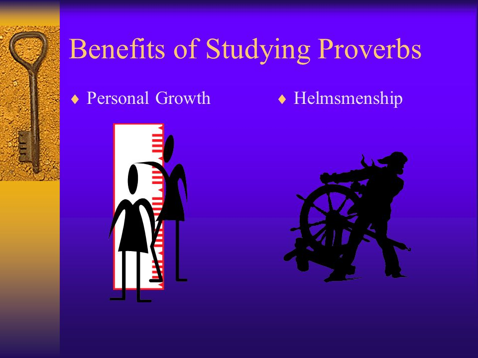 Benefits of Studying Proverbs Personal Growth Helmsmenship