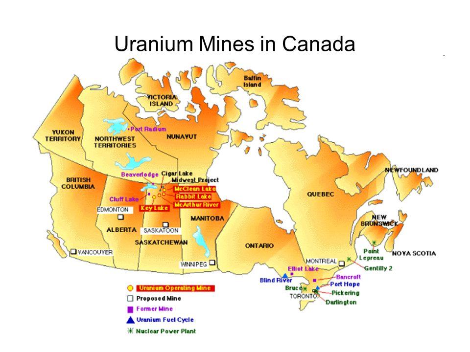 Uranium Mines in Canada