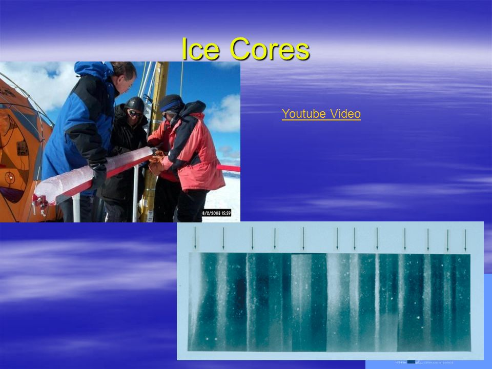 4 Ice Cores Youtube Video