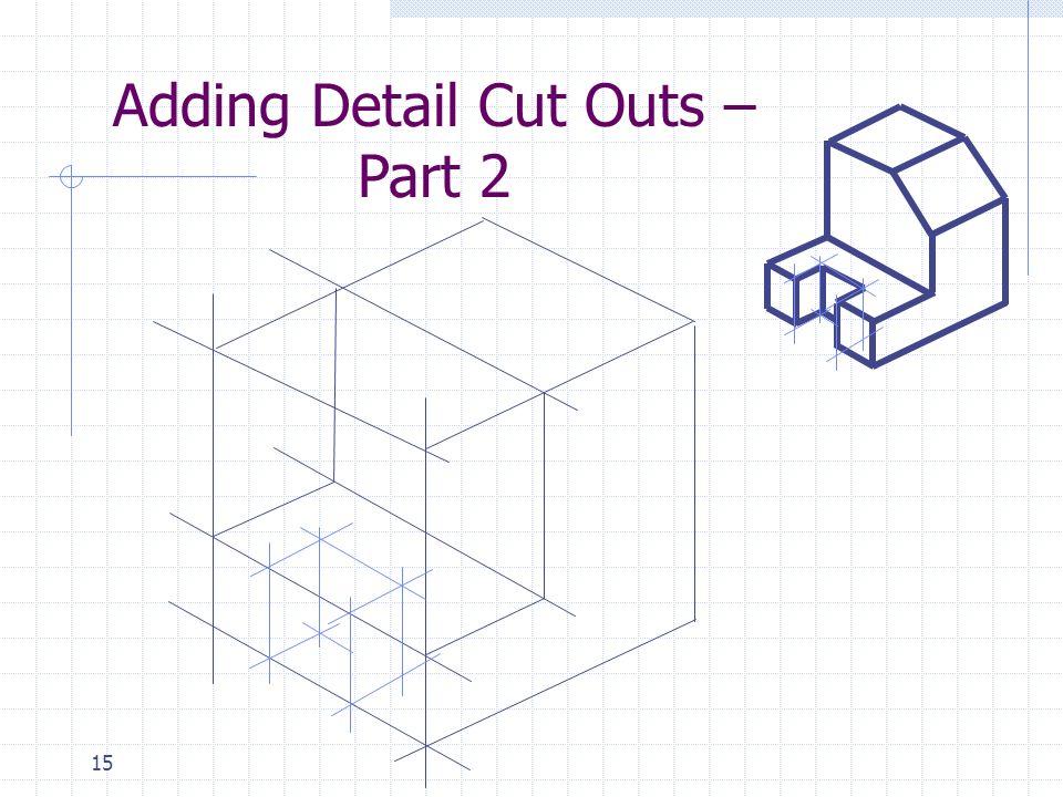 15 Adding Detail Cut Outs – Part 2
