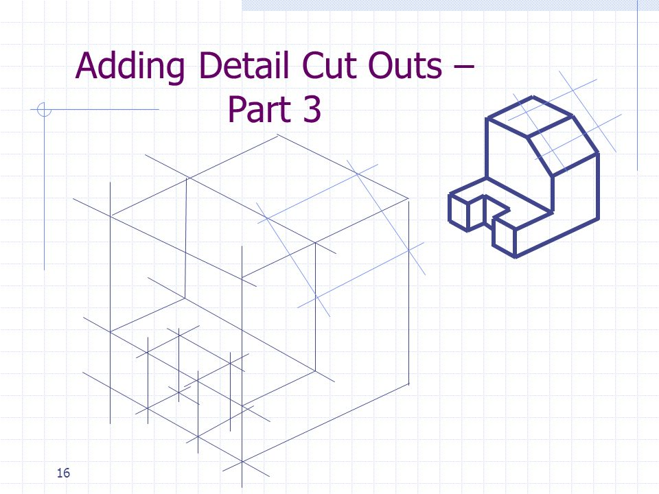 16 Adding Detail Cut Outs – Part 3