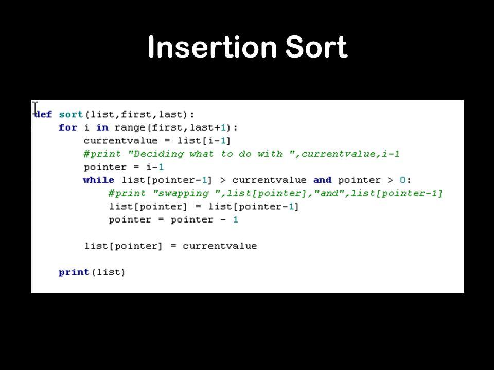 Quicksort Pivot Value Smaller than the Pivot Larger than the Pivot http://cs.slu.edu/~goldwasser/demos/Quicksort/
