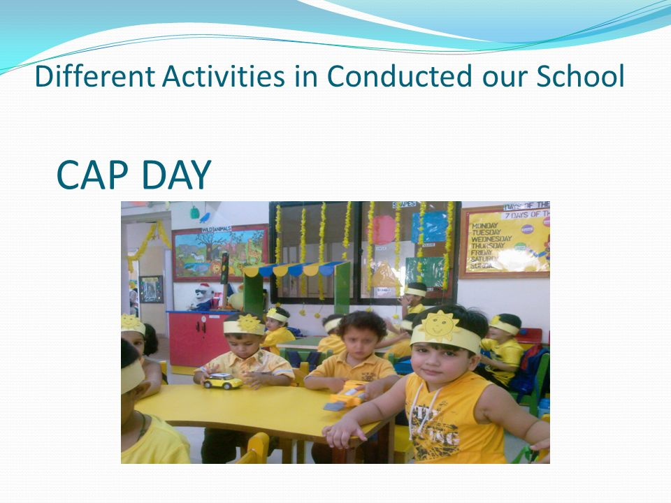 Different Activities in Conducted our School CAP DAY