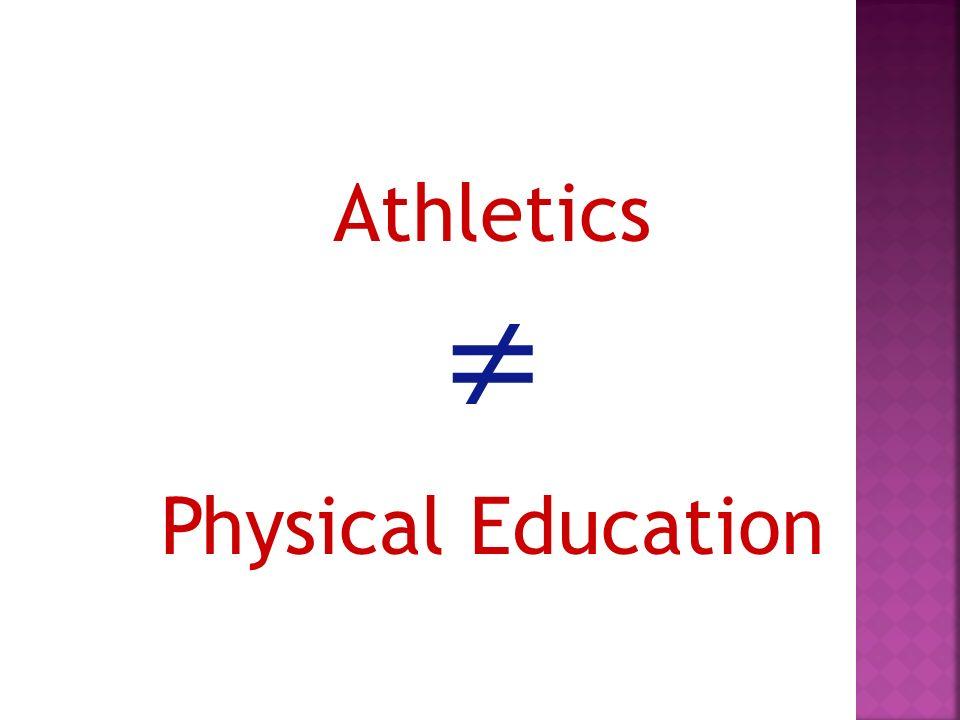 Athletics Physical Education
