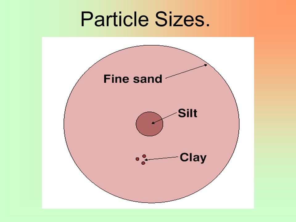 Particle Sizes.
