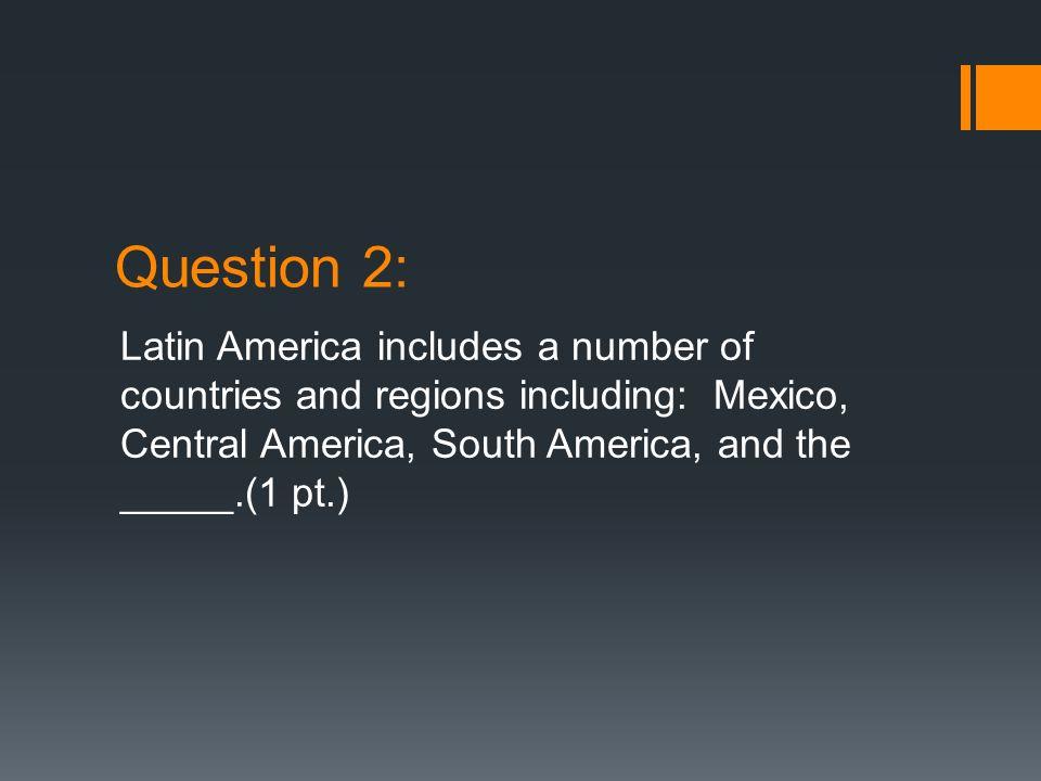 Answer 7: Panama Canal