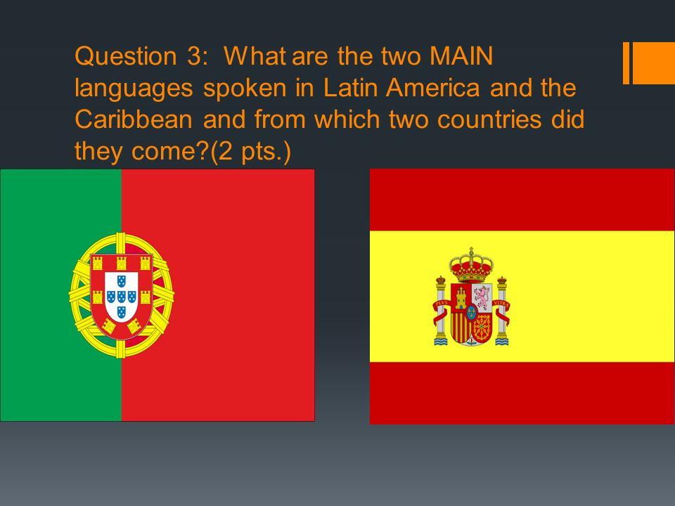 Answer 8: Caribbean Sea