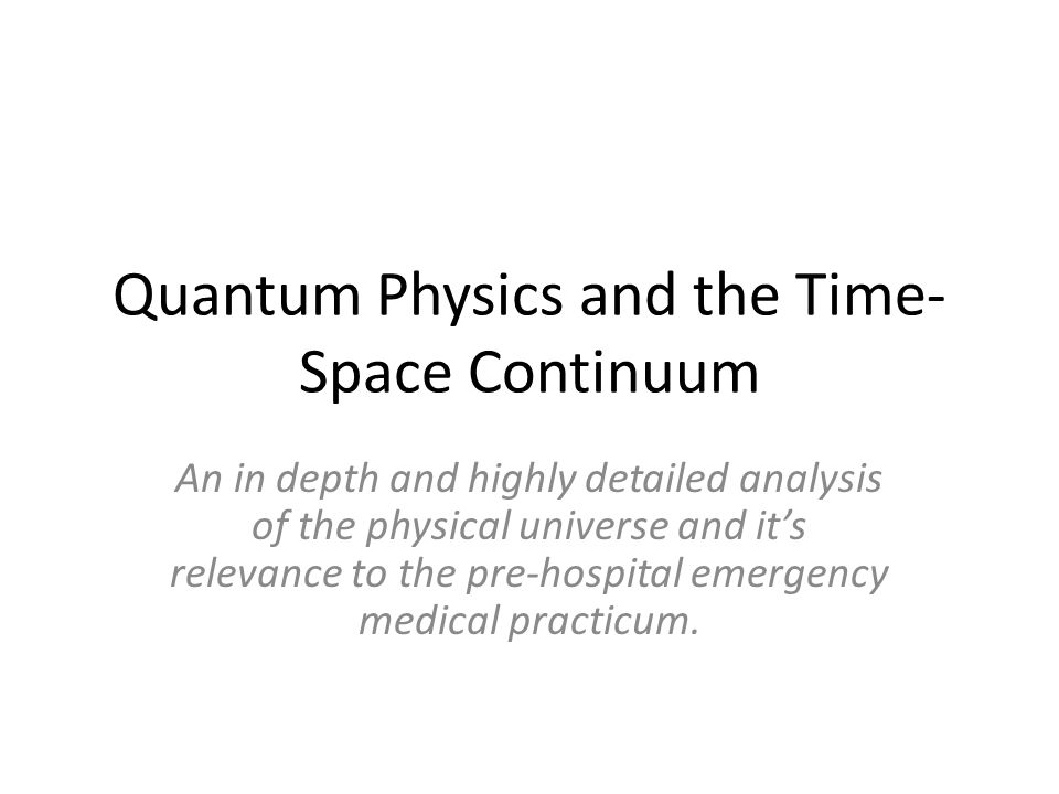 TRAUMA KINEMATICS An Introduction to the Physics of Trauma
