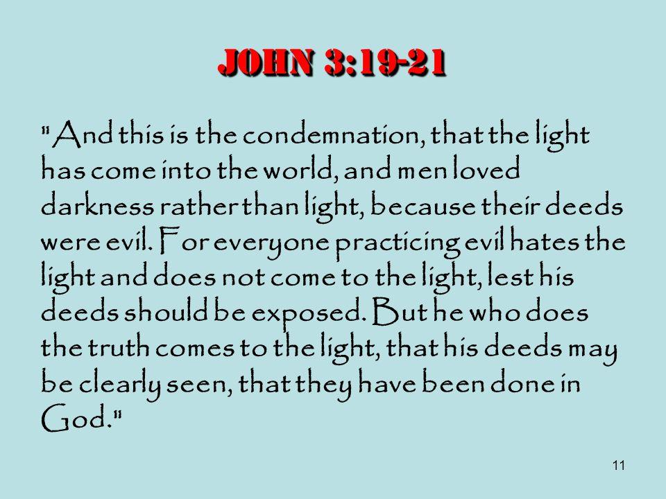11 John 3:19-21