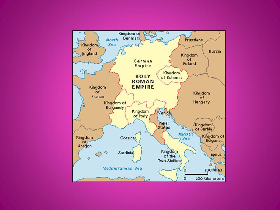 The Holy Roman Empire vs.