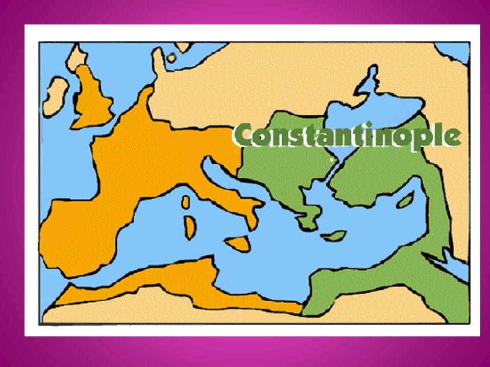 XV.The Byzantine Empire A.After the fall of the Roman Empire in 476 A.
