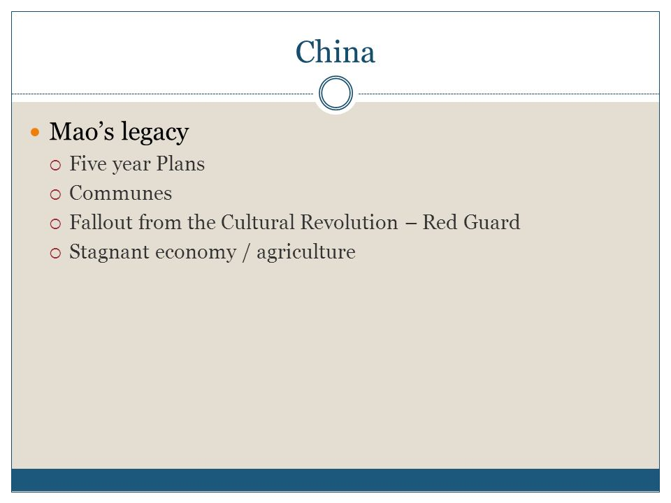 Post Mao China China After Mao Video – Discovery Education