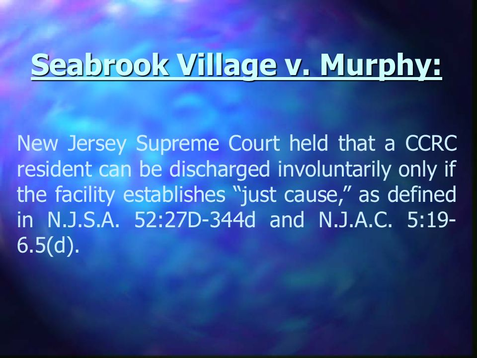 Seabrook Village v.
