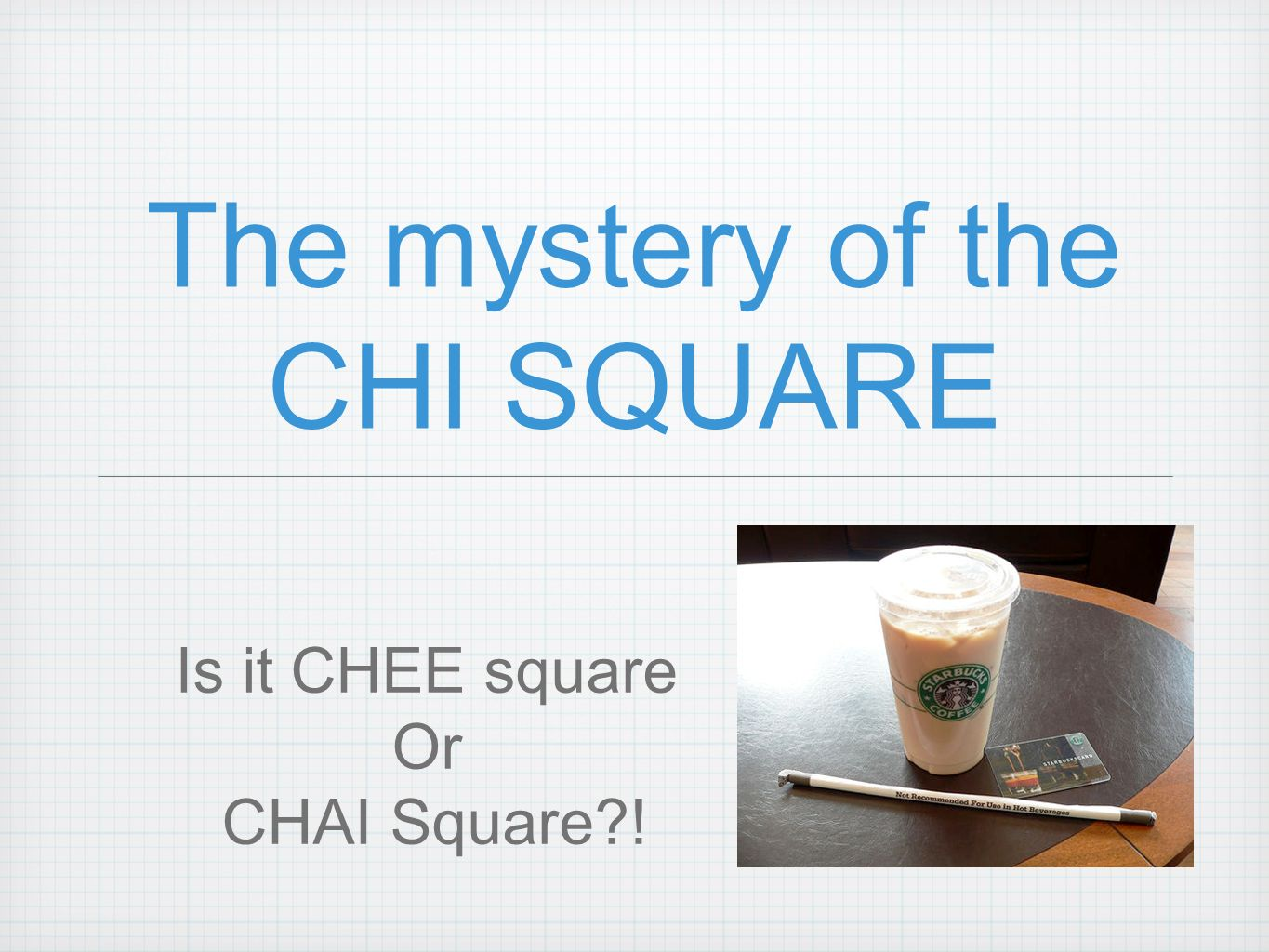 Chi Square X 2 goodness of fit There is a single test that can be applied to see if the observed sample distribution is significantly different in some way from the hypothesized population distribution