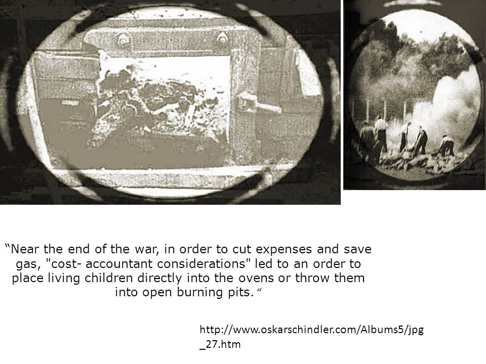 Near the end of the war, in order to cut expenses and save gas,