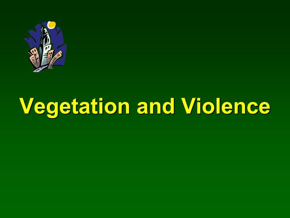 Vegetation and Violence