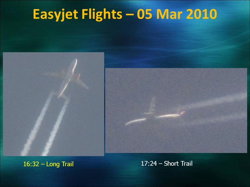Easyjet Flights – 05 Mar 2010 16:32 – Long Trail 17:24 – Short Trail
