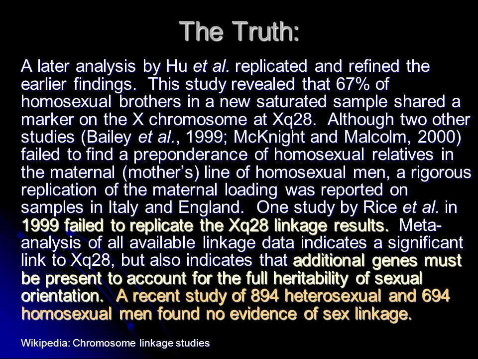 The Truth: A later analysis by Hu et al. replicated and refined the earlier findings.