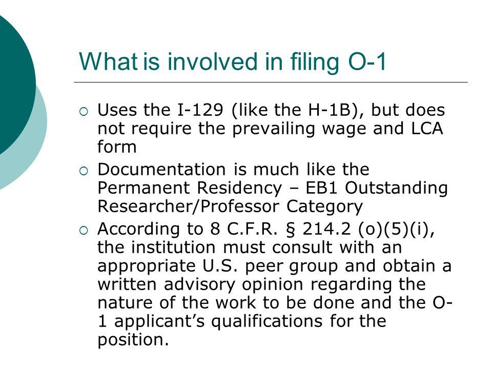 O-1 Approval Notice